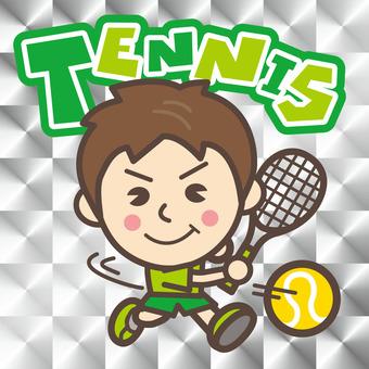 TENNIS ☆ Tennis ☆ Illustration (Men)