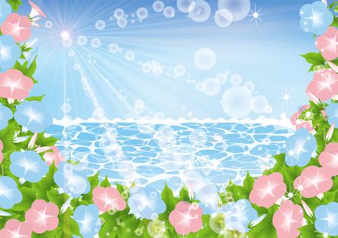 Blue Sea and Sky Asakao 2