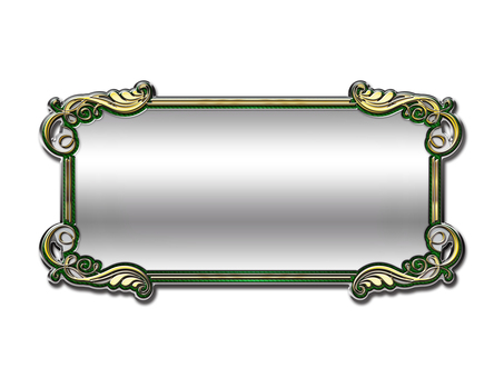 Gorgeous plate (green)