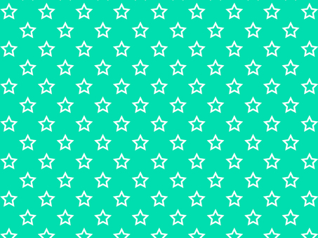 ai hollow star pattern with swatch background green