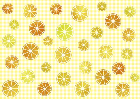 Watercolor Orange Wallpaper Random Gingham Check