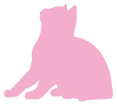 고양이의 실루엣 26