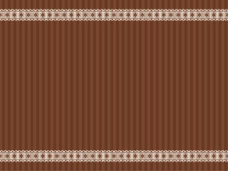 Wallpaper (Border Race / Brown)