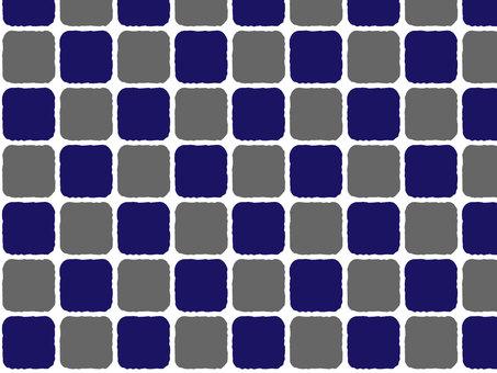 Hand drawn tile pattern
