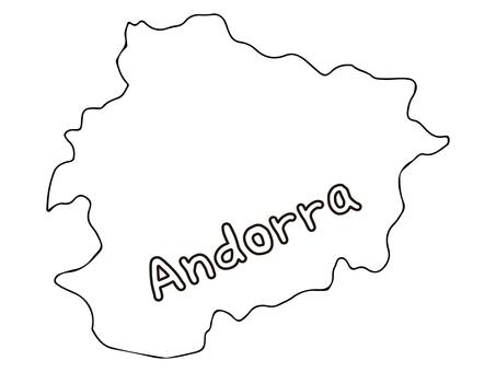 Andorra terrain