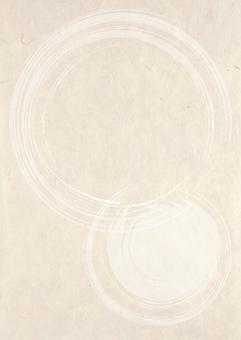 Japanese paper_round brush pattern_length 2335