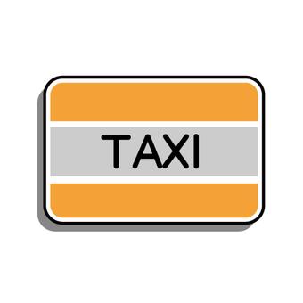 TAXI prepaid card image