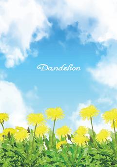 Dandelion Background (Vertical)