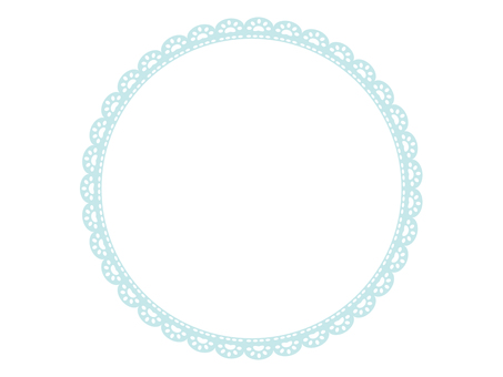 Cute lace frame