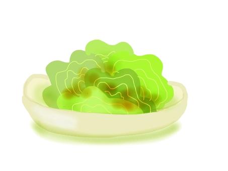 Choregi salad