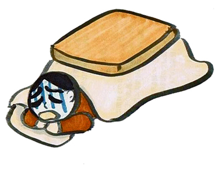 Nausea with a kotatsu
