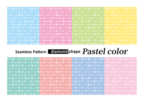 Seamless pattern diamond summer background