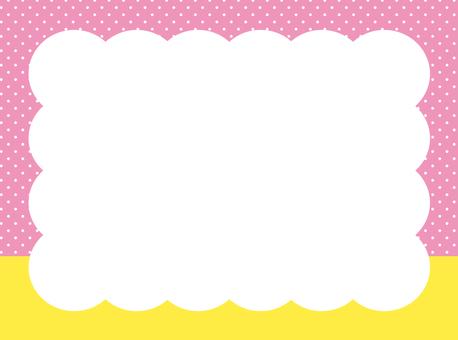 여름 프레임 (핑크)
