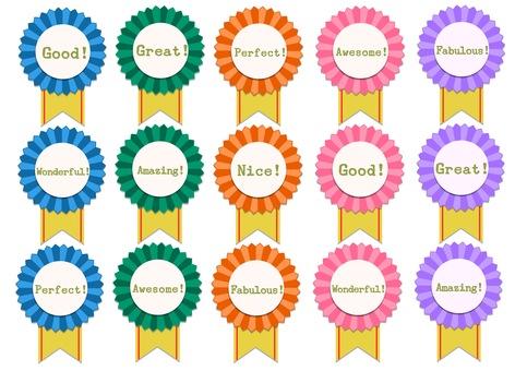 Reward Rosette