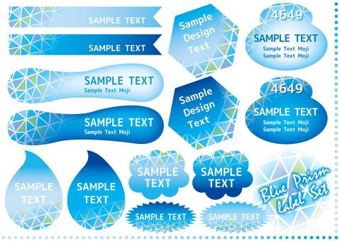 Blue prism label