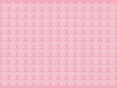 Cherry blossom pattern 1