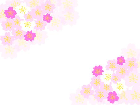 櫻桃框架背景透明