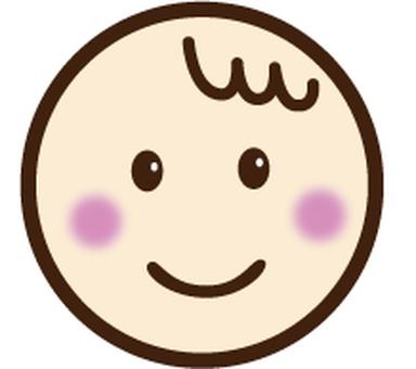 Baby baby icon