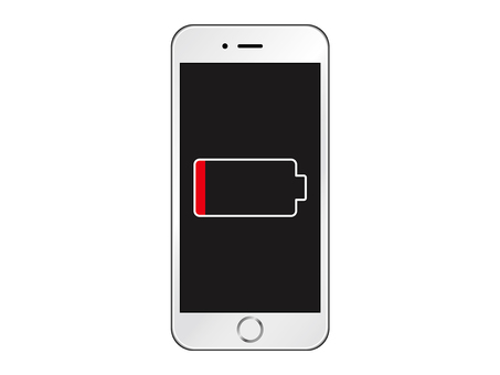 Running out of smartphone battery