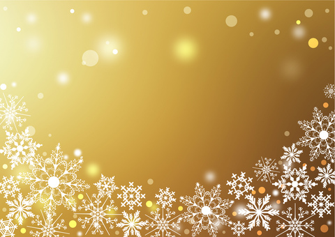 クリスマス_ゴールド背景2211