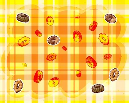Sweet card (donut)