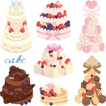 Hall cake set