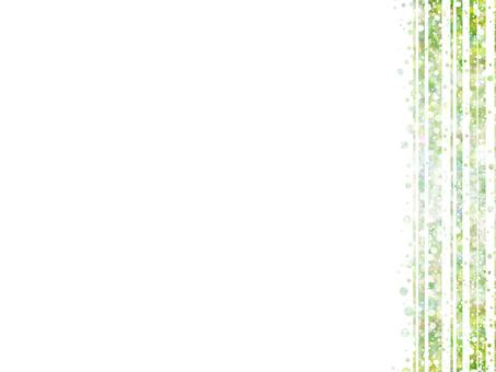 Glitter stripes (green)