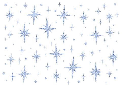 Light blue glitter background white