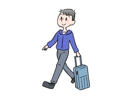 Men who enjoy traveling