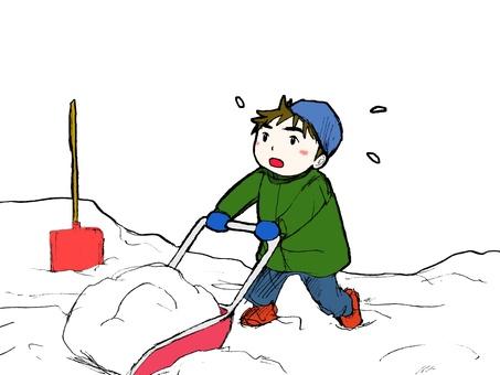 Snow shovel 02
