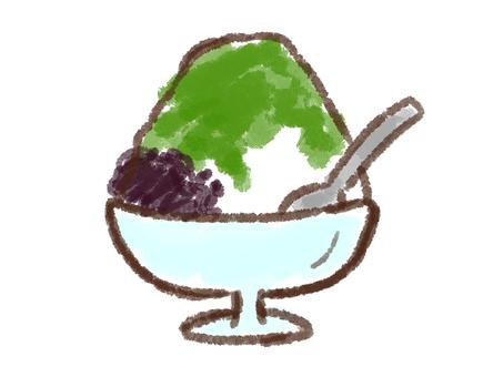 Crayon series [Shaved ice / Uji Kintoki]