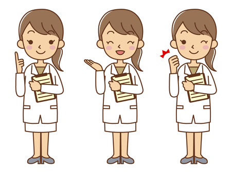 Female Doctor Counselor Set 2
