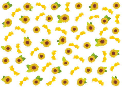 Sunflower Ribbon background