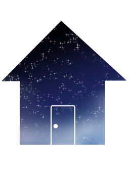Simple icon / house
