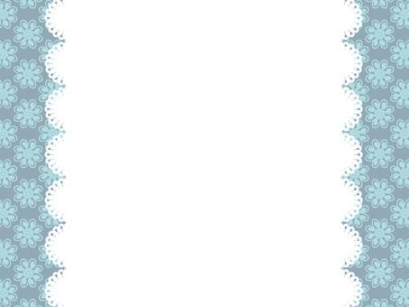 Flower pattern frame 7