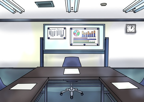 Meeting room illustration 001