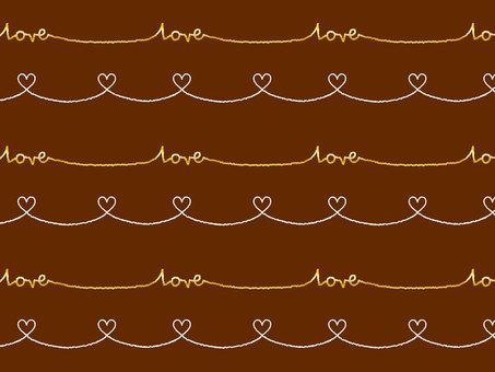 Heart pattern 14