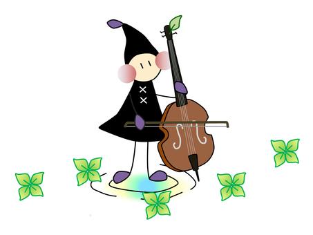 Chiton _ Musical instrument _ cello