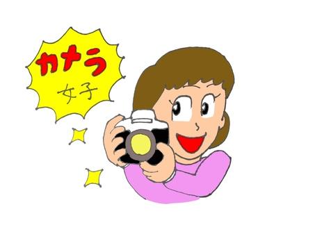 Camera girl B