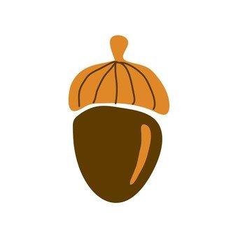 Northern European fruit (acorn)