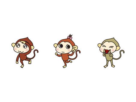 Watch the monkey listen Monkey say monkey