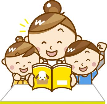 家長閱讀畫冊_ A 02【粉彩】