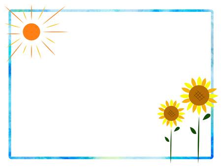 Sunflower frame ver 01