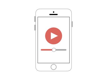 Smartphone smartphone simple video