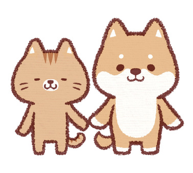 Dog and Neko stand pose