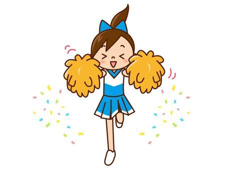 Cheer Girl - Furifuri Light Blue