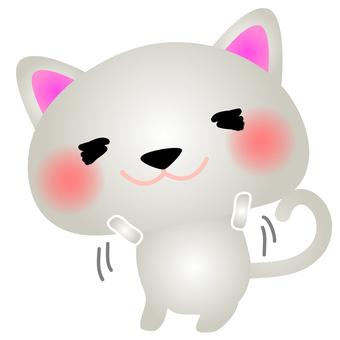 White Cat Banzai