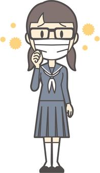 初中水手女人-155-全身