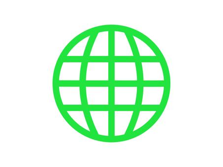 地球圖像圖標