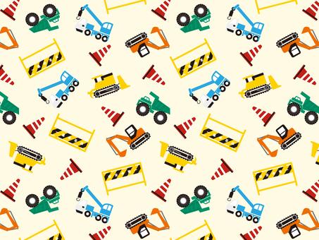 Construction vehicle wallpaper